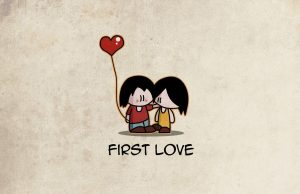 First love: The first drop of rain