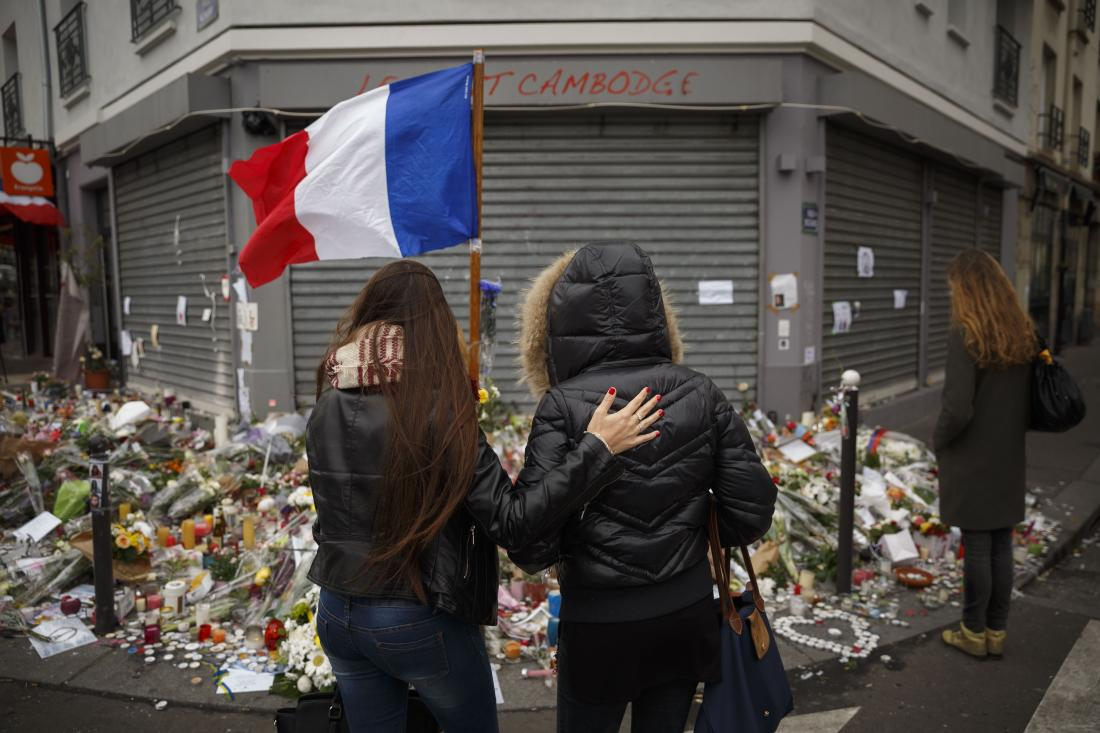 Total Economic Costs of the Paris Attacks by ISIS